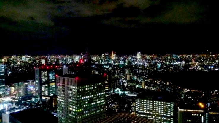 都庁展望室の夜景