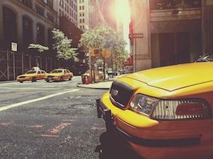 タクシードライバーの仕事