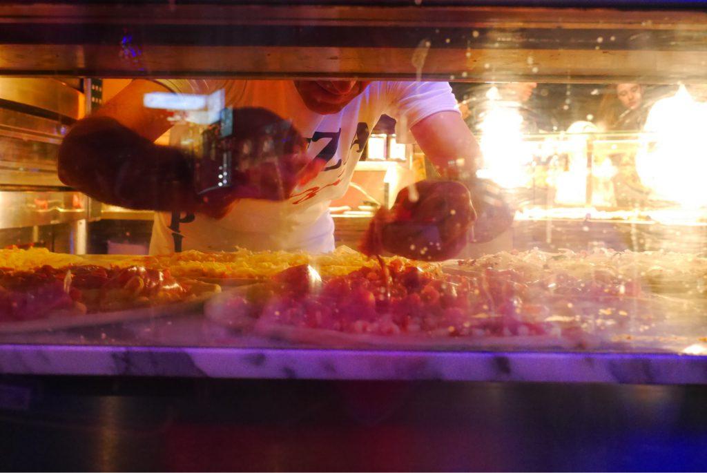 ウィーンのピザ