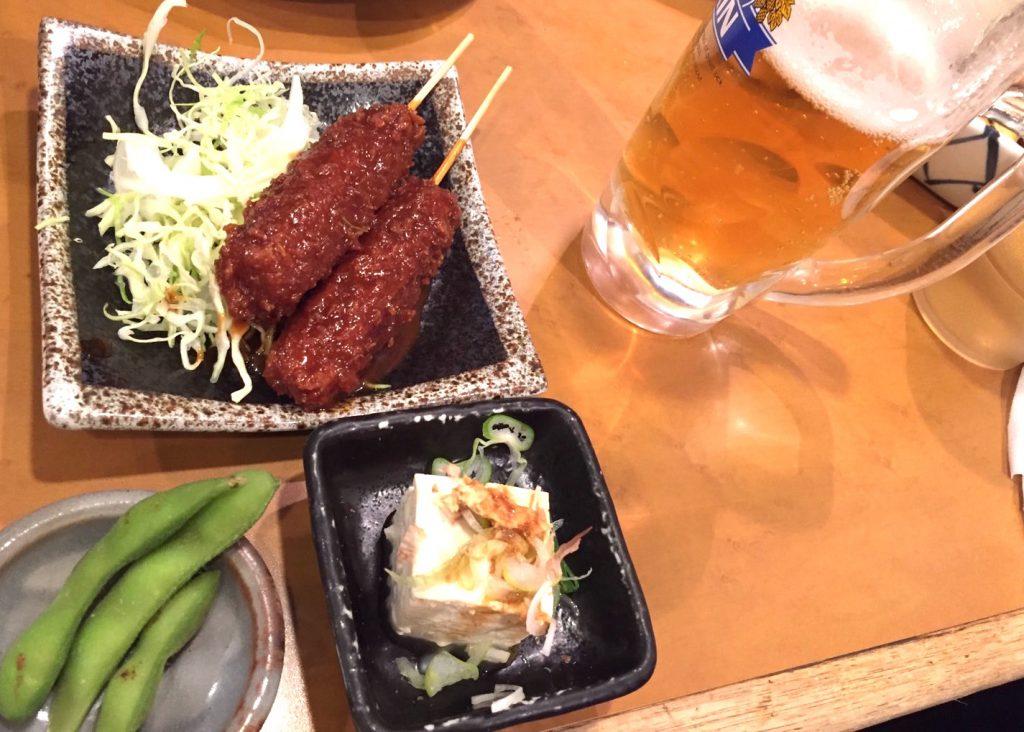とんかつ藤の味噌串セット
